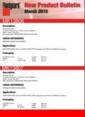 Fleetguard New Filters – Mar 2015
